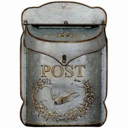 Vintage Metal Post Box