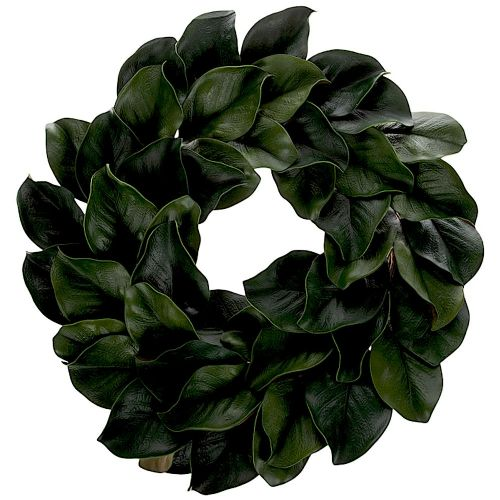 Magnolia Leaf Wreath 24