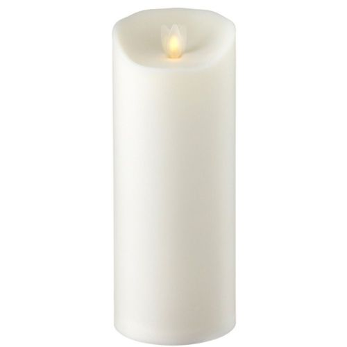 Outdoor Flameless Candle Ivory 3.5