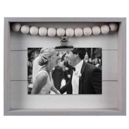 Frame Wood W/ Photo Clip