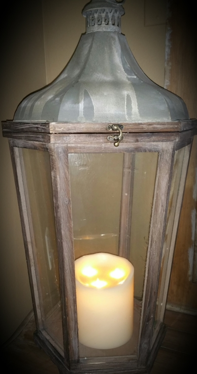 "3-Wick 6""x6"" Fireless Pillar Candle"