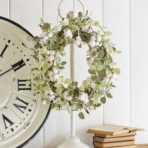 Wreath Holder | White