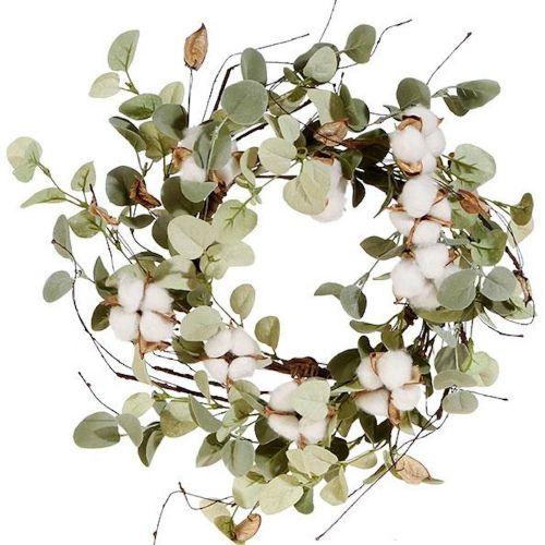 Cotton & Eucalyptus Candle Ring