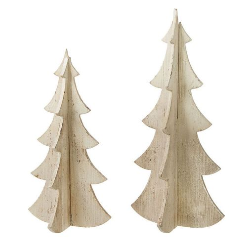 Distressed Wood Trees | 3 Sizes