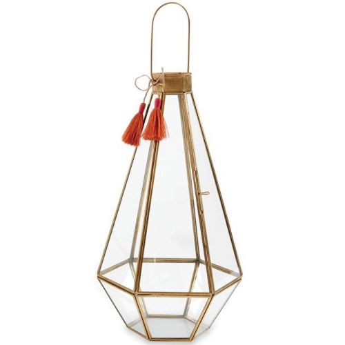 Lantern (Faceted Glass Large)