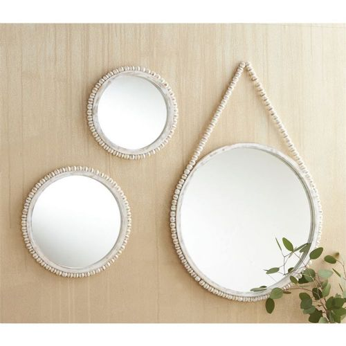 Beaded Mirror (Medium)