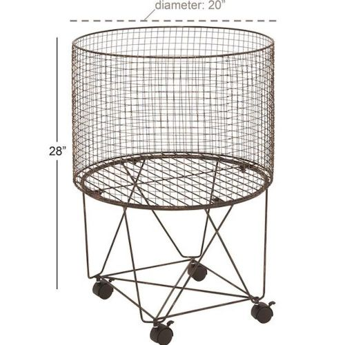 Metal Storage Cart | Circular