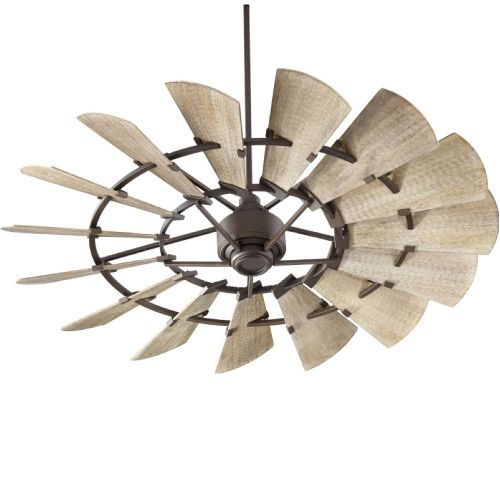 "Windmill 60"" Ceiling Fan Oiled Bronze Finish (Indoor)"