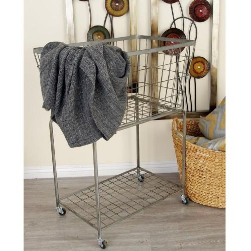 Metal Storage Cart | Rectangular