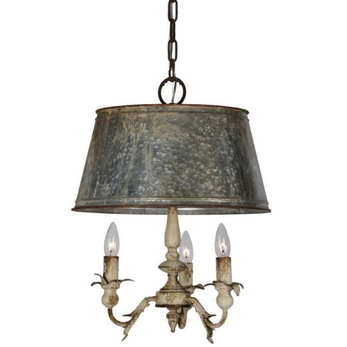 LF Pemberton 3 Light Chandelier