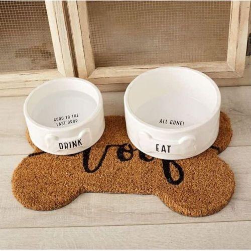 Pet Dog Bowl Placemat