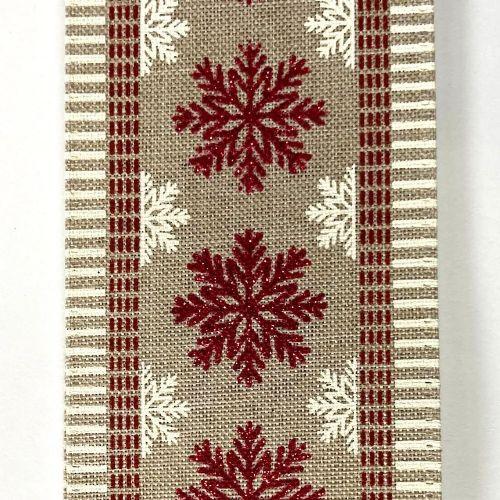 Red/White Snowflakes 2.5