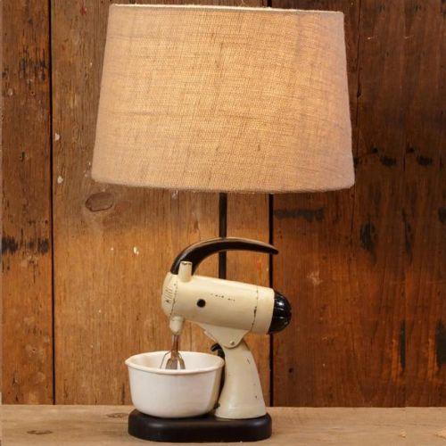 LA Vintage Mixer Lamp