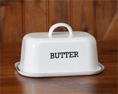 Enamelware Butter Dish