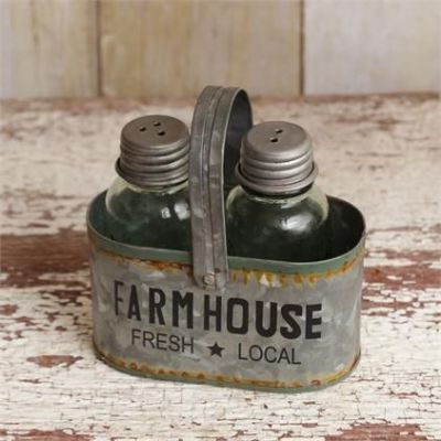 Farm House Salt & Pepper