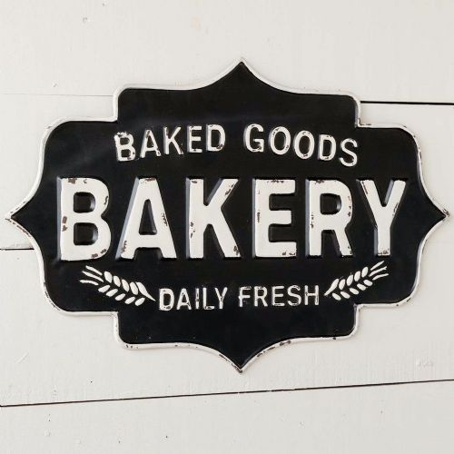 Baked Goods Bakery Metal Sign