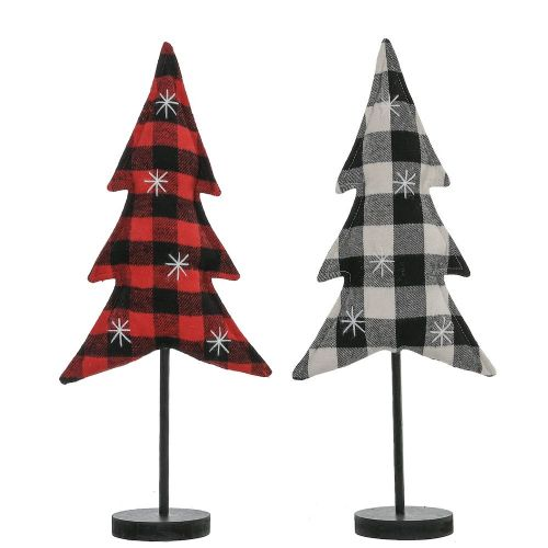Plaid Tree Stand | Medium