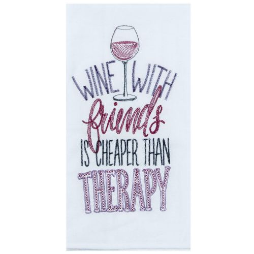 Cheaper Than Therapy Tea Towel