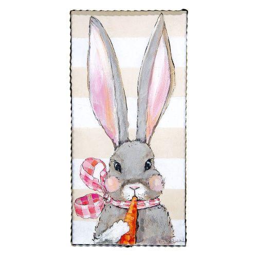 Fancy Girl Rabbit Print