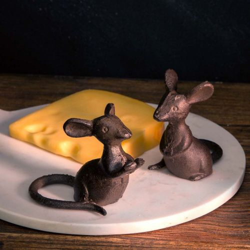 Cast Iron Mice Set/2