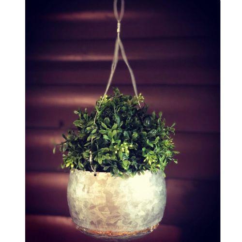 Hanging Metal Planter Small