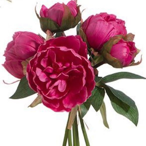 """Real Touch Peony Bundles 10"""""""
