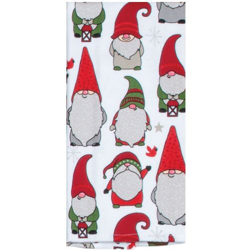 Holiday Gnome Tea Towel