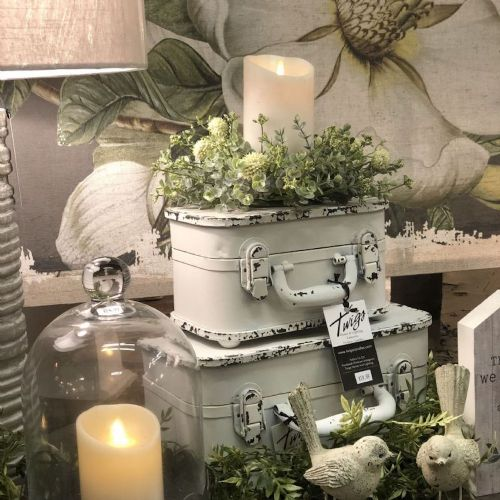 """Candle Ring Farmhouse 3"""" Opening"""