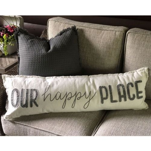 Pillow-Our Happy Place
