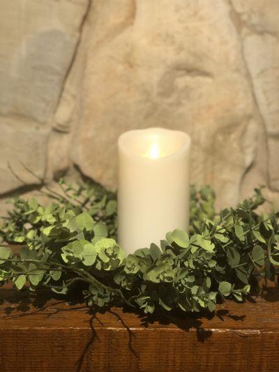 "Candle Ring (Eucalyptus & Twig 16"")"