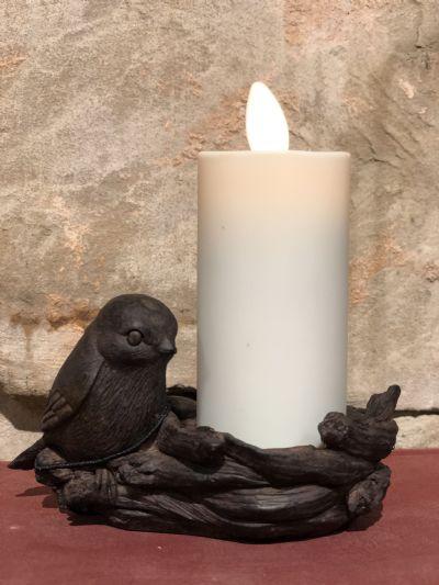 Bird Tealight/Candle Holder