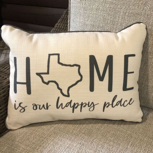 Pillow-Home Is Our Happy Place