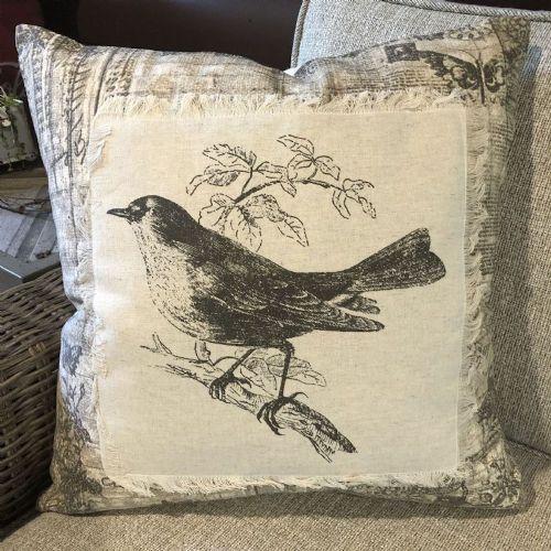Pillow-Vintage Bird