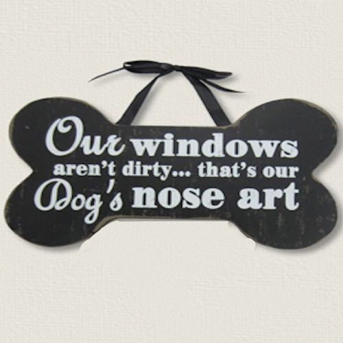 Pet Dogs Nose Art | Wood Sign