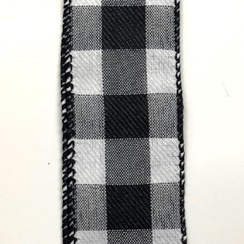 Black/White Buffalo Check 1.5