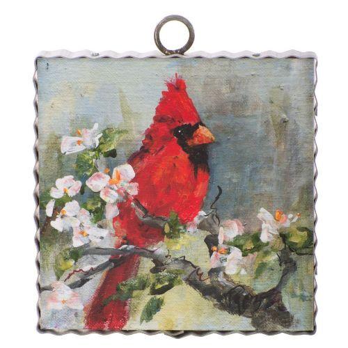 Mini Cardinal Print