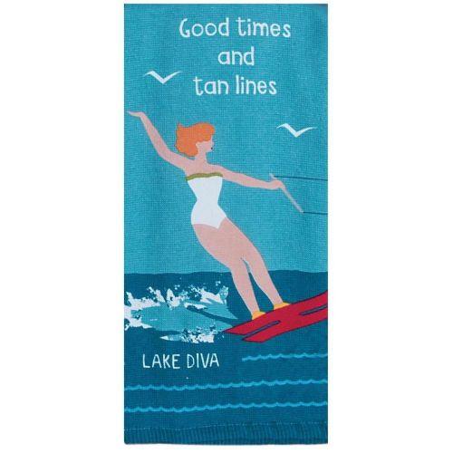 KT Lake Diva Tea Towel