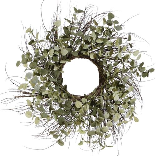 Twig and Eucalyptus Wreath