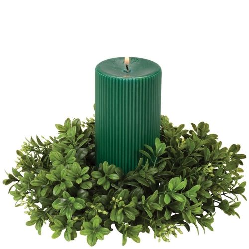 Candle Ring Boxwood 4.5
