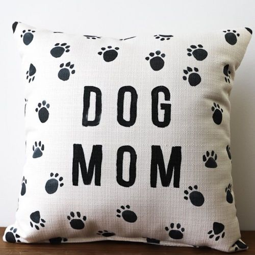 Pillow-Dog Mom