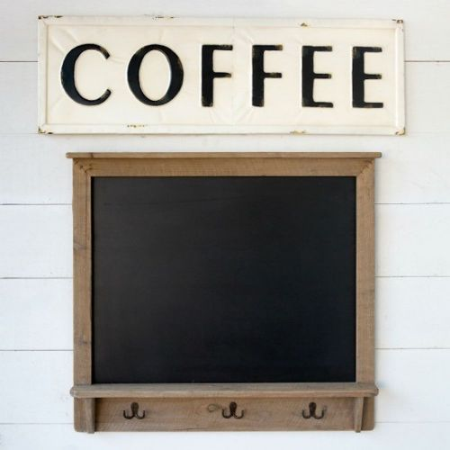"""Coffee"" Metal Sign"