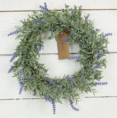 Candle Ring Lavender 6