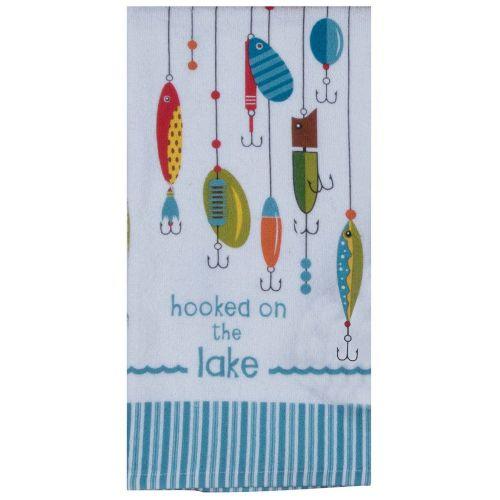 lake tea towel