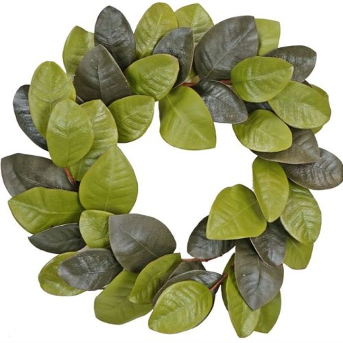 Magnolia Leaf Wreath 22