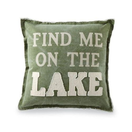 Pillow-Find Me On The Lake