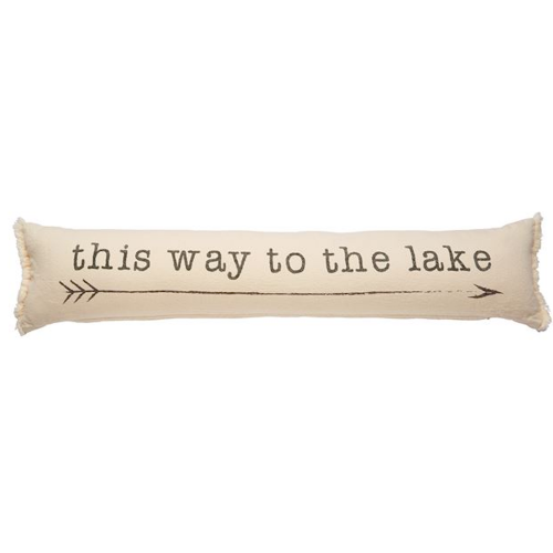 this way to the lake pillow