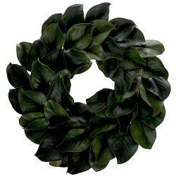 Magnolia Leaf Wreath 24