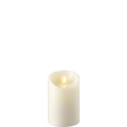 Wax Pillar Fireless Candle With Timer Ivory 3