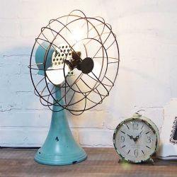 LA Vintage Fan Lamp