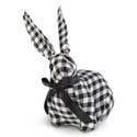 Gingham Baby Bunny